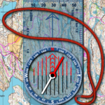 Orienteering Compass & Map for pc icon