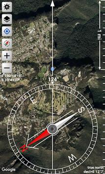Orienteering Compass & Map APK screenshot 1