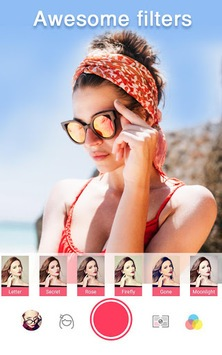 Sweet Selfie - selfie cam, beauty cam, photo edit APK screenshot 1