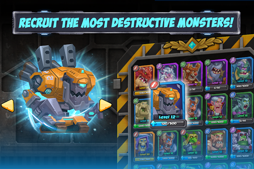Tactical Monsters Rumble Arena -Tactics & Strategy APK screenshot 1