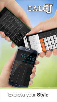 Stylish Calculator Free - CALCU™ APK screenshot 1