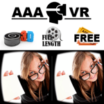 AAA VR Cinema Cardboard 3D SBS icon