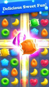 Crazy Candy Bomb - Sweet match 3 game APK screenshot 1