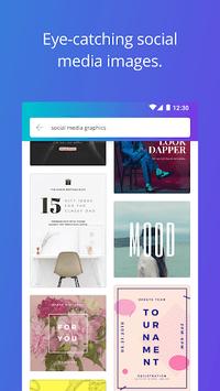 Canva: Graphic design & poster, invitation maker APK screenshot 1