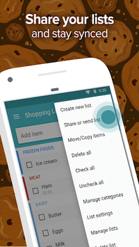 Out of Milk - Grocery Shopping List APK screenshot 1