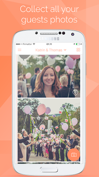 Wedding Photo App by Wedbox APK screenshot 1