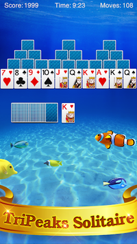 TriPeaks Solitaire APK screenshot 1