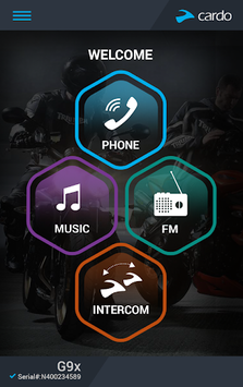 Cardo SmartSet APK screenshot 1