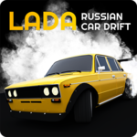 Lada Russian Car Drift icon