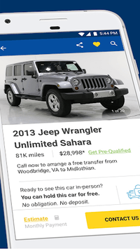 CarMax – Cars for Sale: Search Used Car Inventory APK screenshot 1