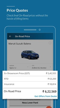 CarWale - New cars & used cars prices in India APK screenshot 1