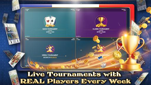 VIP Tarot - Free French Tarot Online Card Game APK screenshot 1