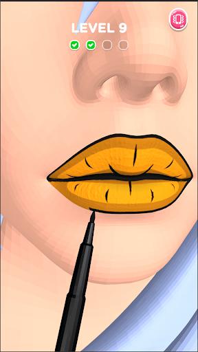 Lip Art 3D APK screenshot 1