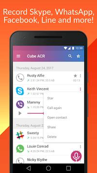 Cube Call Recorder ACR APK screenshot 1