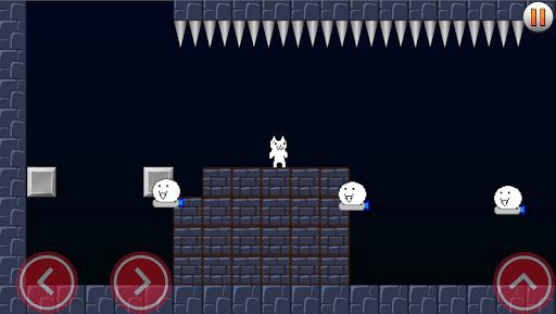 Cat MeOUCHio : Syobon Action HD Remake APK screenshot 1