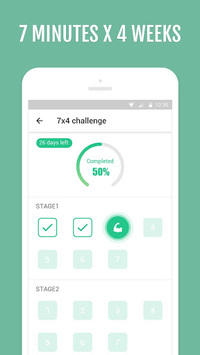 7 Minutes to Lose Weight - Abs Workout APK screenshot 1