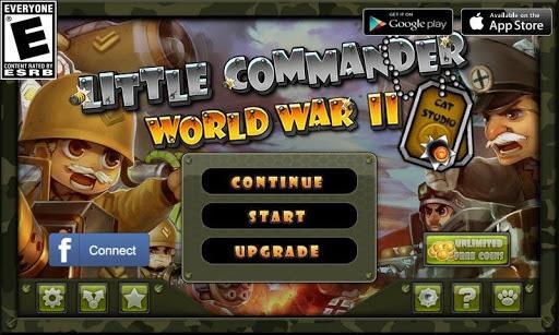 Little Commander - WWII TD APK screenshot 1