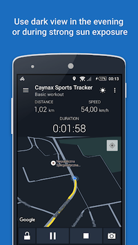 GPS Sports Tracker App: running, walking, cycling APK screenshot 1