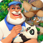 Tropical Forest: Match 3 Story APK icon
