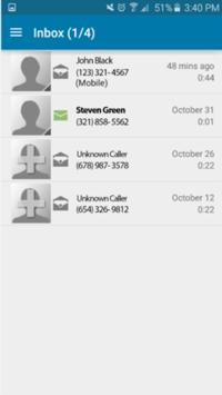 Cellcom Visual Voicemail APK screenshot 1