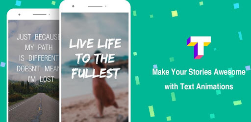 Hype Text - type animate text for Instagram story pc screenshot