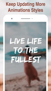 Hype Text - type animate text for Instagram story APK screenshot 1