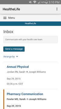 HealtheLife APK screenshot 1