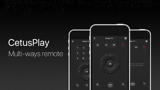CetusPlay - TV Remote Server Receiver APK screenshot 1