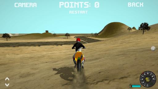 Motocross Motorbike Simulator Offroad APK screenshot 1