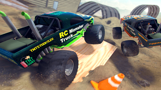 RC Monster Truck - Offroad Driving Simulator APK screenshot 1