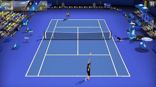 3D Tennis APK screenshot 1