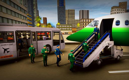 Airport Security Staff Police Bus Driver Simulator APK screenshot 1