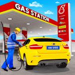Gas Station Car Driving Simulator Car Parking Game icon