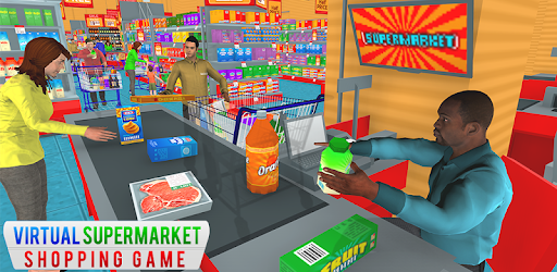 Supermarket Grocery Shopping Mall Family Game pc screenshot