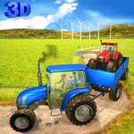 Tow Tractor Driving Simulator: Chained Pull Driver icon