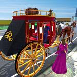 Horse Carriage Transporter: Cart Riding Simulator icon