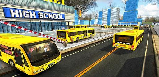 City High School Bus 2018: Driving Simulator PRO pc screenshot