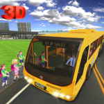City High School Bus 2018: Driving Simulator PRO APK icon