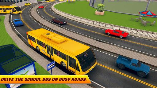 City High School Bus 2018: Driving Simulator PRO APK screenshot 1