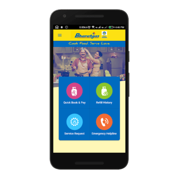 Bharatgas APK screenshot 1