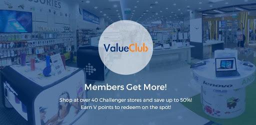 ValueClub pc screenshot