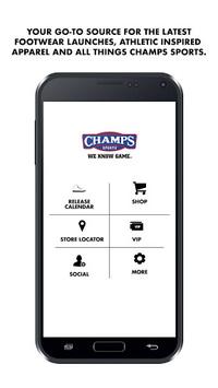 Champs Sports APK screenshot 1