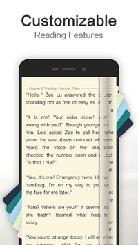 MoboReader - Novels and Fiction Stories APK screenshot 1