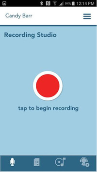 Charms Blue - Student App APK screenshot 1