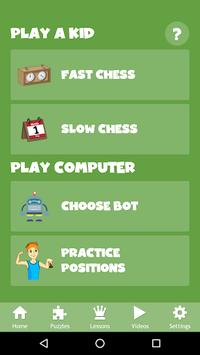 Chess for Kids - Play & Learn APK screenshot 1