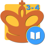 Mate in 3-4 (Chess Puzzles) APK icon