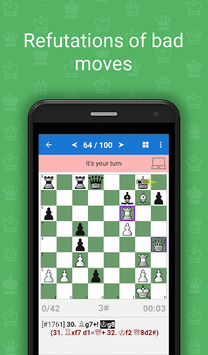 Mate in 3-4 (Chess Puzzles) APK screenshot 1