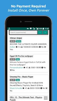 Paid Apps Gone Free - PAGF (Beta) APK screenshot 1