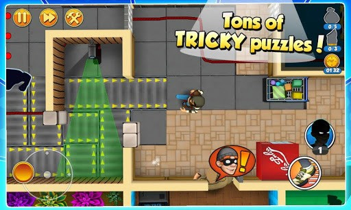 Robbery Bob 2: Double Trouble APK screenshot 1