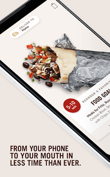 Chipotle APK screenshot 1